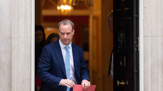 Mr Raab is the First Secretary of State