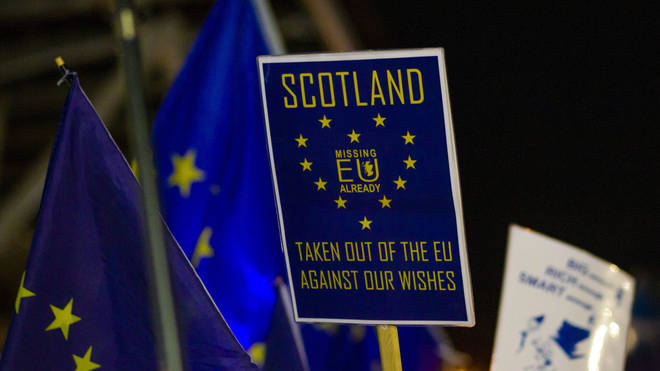 Scotland's Government have asked for the Brexit transition period to be extended
