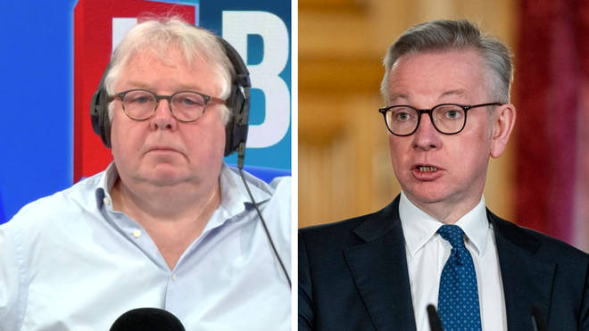Nick Ferrari spoke to Michael Gove about the condition of the Prime Minister