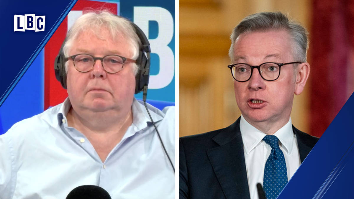 Michael Gove gives an update on Boris Johnson's condition in Intensive Care