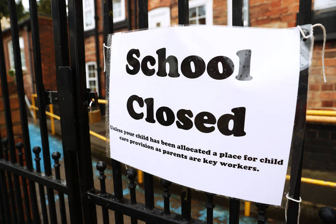 Schools across the UK have been closed amid the outbreak