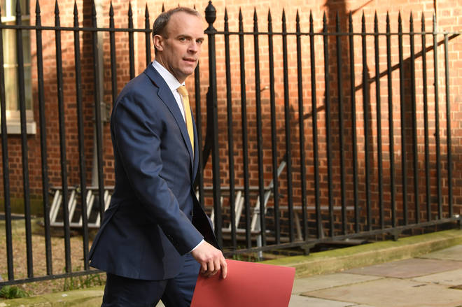 Dominic Raab was given the responsibility of deputy to the PM