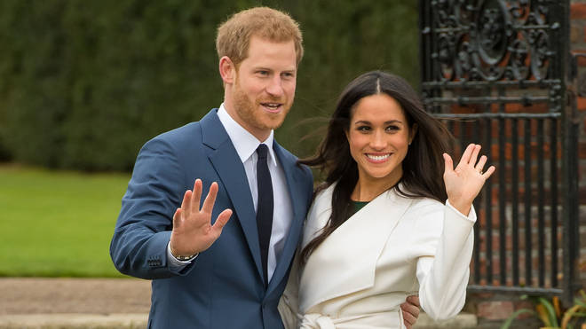 """File photo: Harry and Meghan said they """"look forward"""" to forming the charitable organisation"""