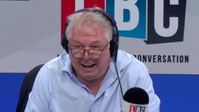 Nick Ferrari enjoyed his conversation with Roger