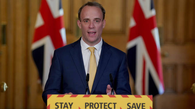 Dominic Raab is deputising for the PM while he remains in hospital