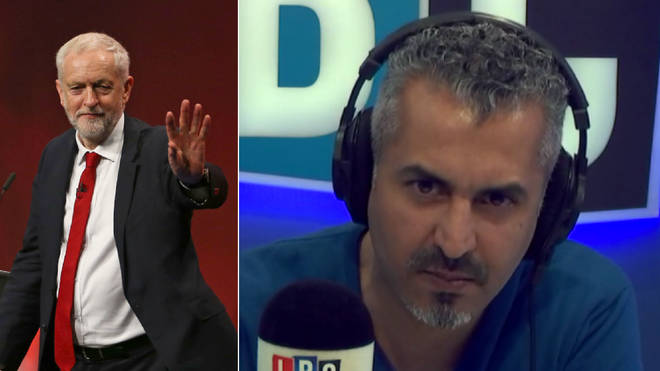 Maajid Nawaz didn't hold back with his comments on the Labour Party