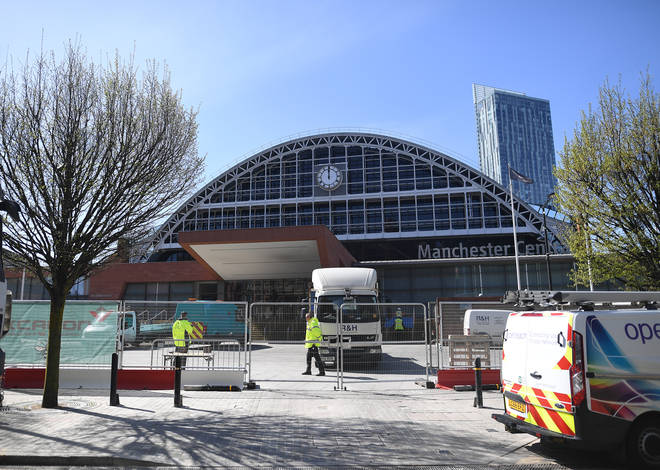 Nightingale North West is being built inside Manchester's exhibition hall