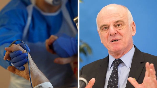 Dr. David Nabarro Told People They Should Take Coronavirus Seriously