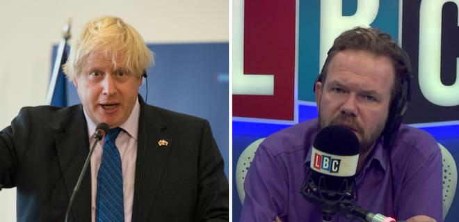 Boris Johnson/James O'Brien