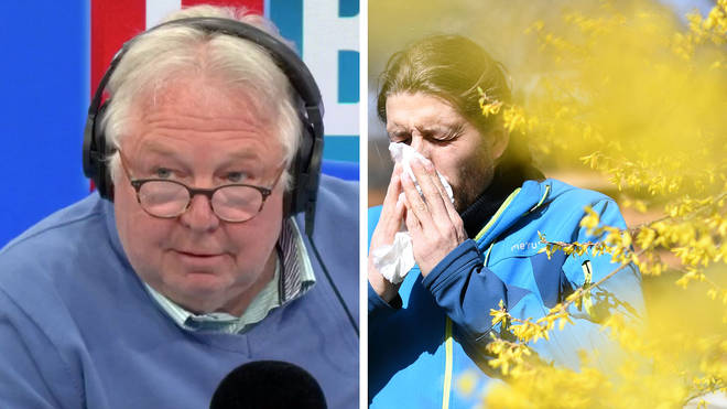 Nick Ferrari heard the truth about the hay fever season in 2020