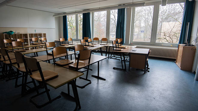 Schools have been closed since the middle of March to help prevent coronavirus spread