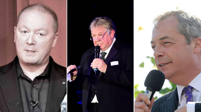Steve Allen, Nick Ferrari and Nigel Farage are hosting a series of LBC live events