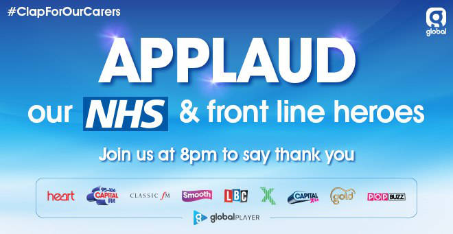 LBC and LBC News want you to applaud the heroes of the NHS