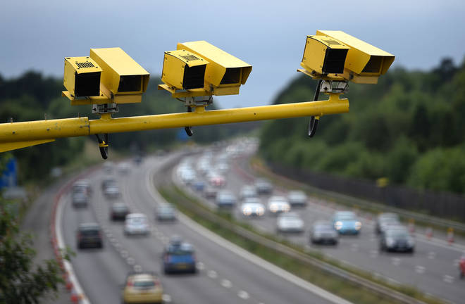 The man was caught speeding on the M25 (file picture)