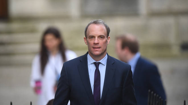 Dominic Raab will chair a Cobra meeting while the PM remains in intensive care