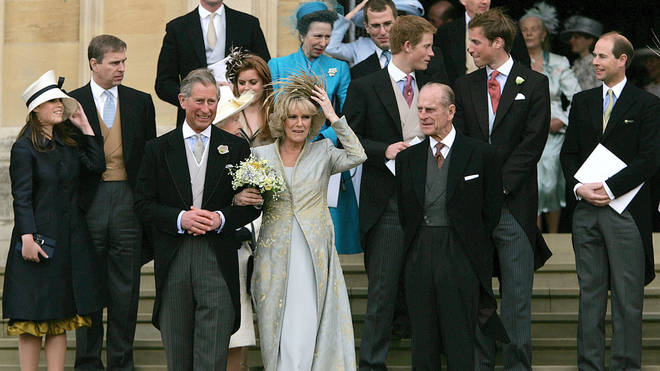 The pair married 15 years ago and had their union blessed at St George's Chapel in Windsor
