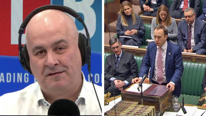 Iain Dale told a caller that MPs should not have to take a paycut