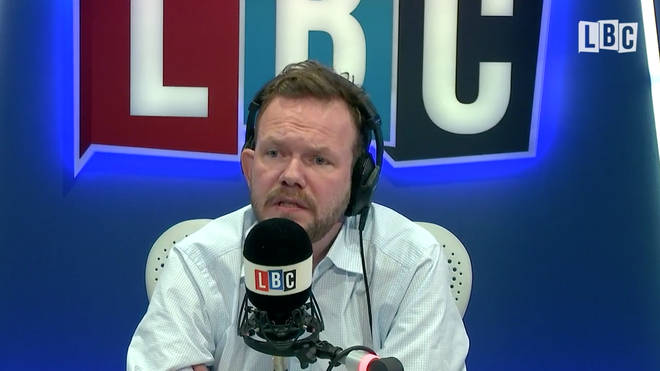 James O'Brien, making the speech which was sampled