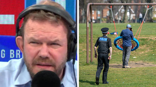 James O'Brien had strong words for this caller about breaking the lockdown