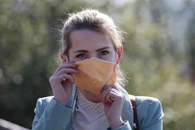 Face masks should be worn, the new study says