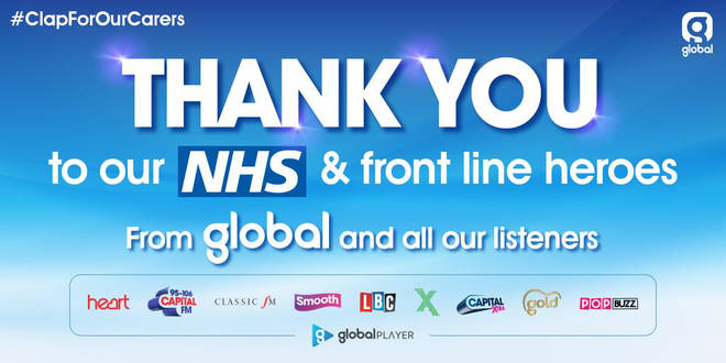 Thank you for joining us in clapping for our NHS heroes