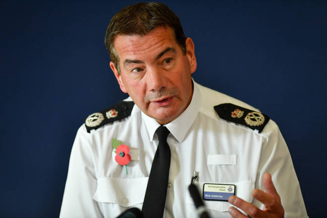 Chief Constable Nick Adderly has since backtracked
