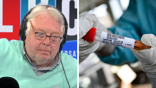 Nick Ferrari asked the NHS director why we're not meeting testing targets