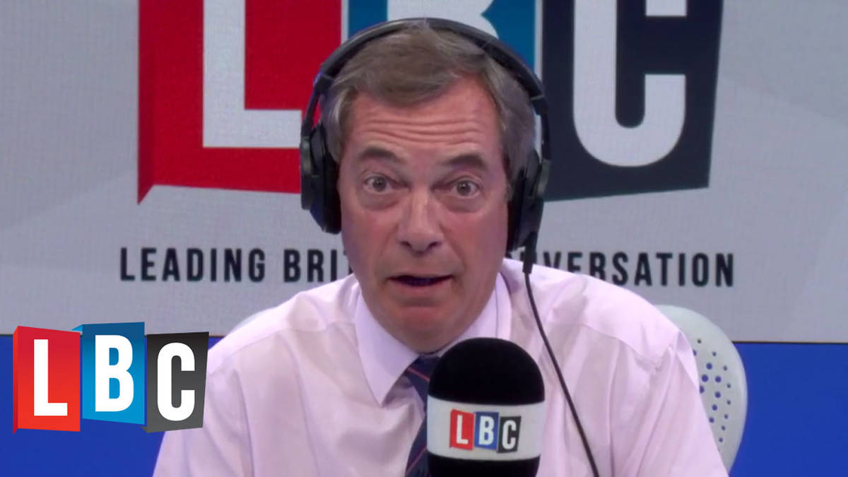 Nigel Farage: I Can't See Free Movement Ever Ending Under Theresa May