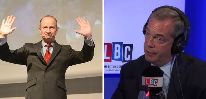 Henry Bolton Nigel Farage