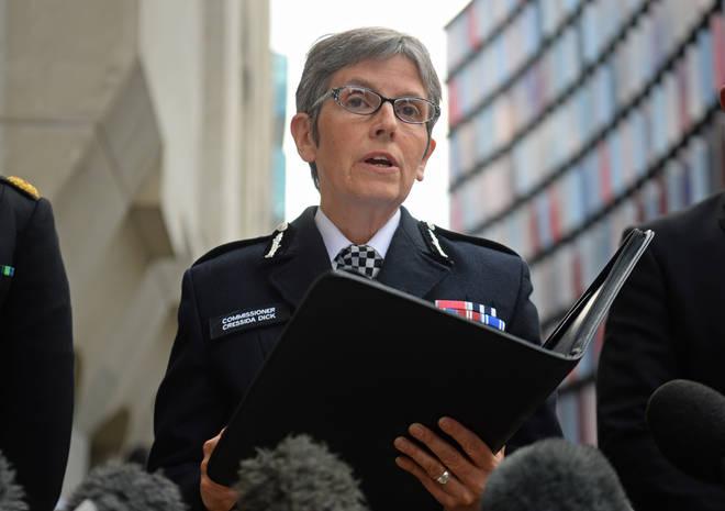 Met Police Commissioner speaks to LBC