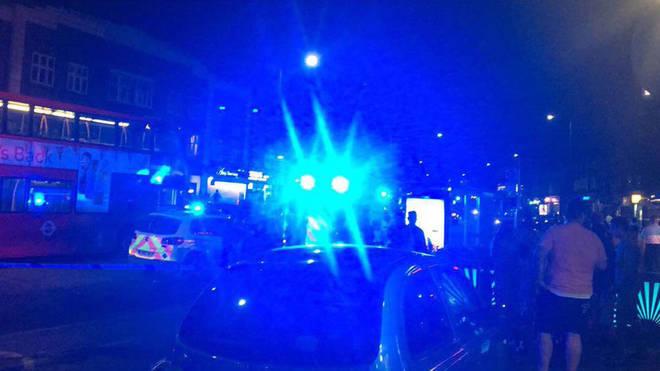 Eyewitness photos of the shooting in Kingsbury