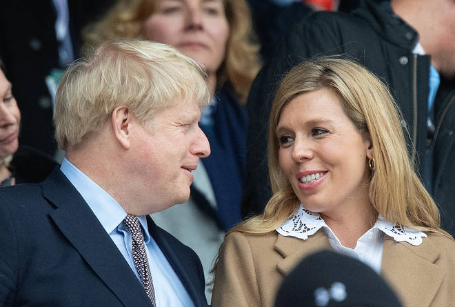 Carrie Symonds sent letters to Boris Johnson every day while he was in intensive care