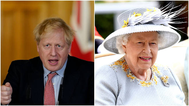 Boris Johnson and the Queen both spoke on coronavirus last night
