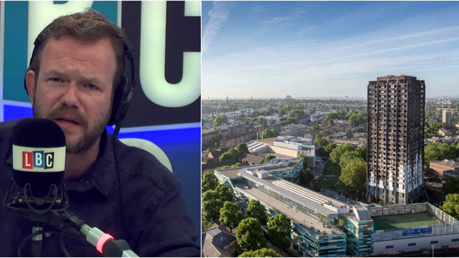 James O'Brien discussing the Grenfell Tower