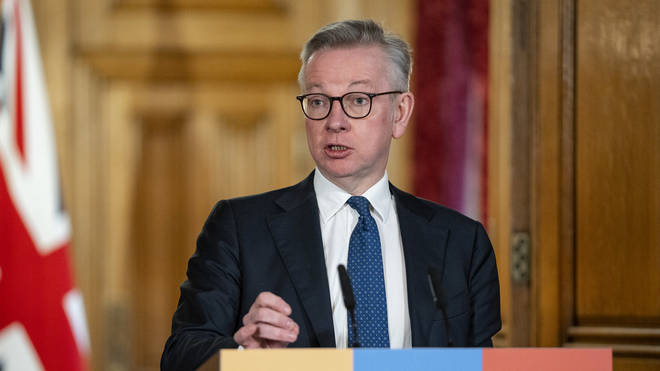 Michael Gove's daughter was given special permission for a coronavirus test