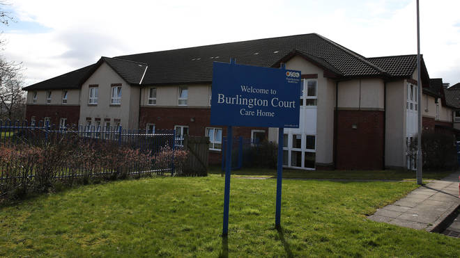 13 patients have died at the Burlington care home in North Lanarkshire
