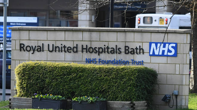 Royal United Hospital in Bath is allowing patients to visit their dying relatives