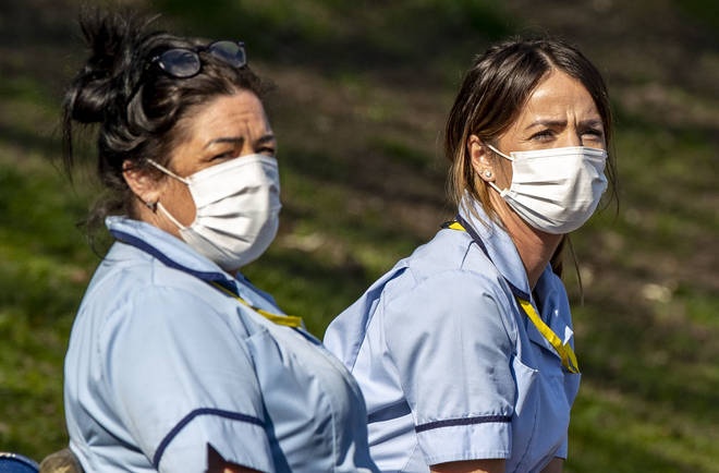 Care workers are asking for better PPE (file image)