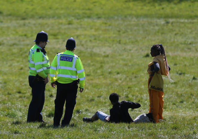 Police have been criticised over their handling of the legislation