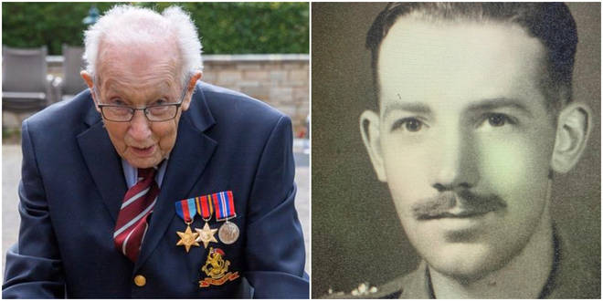 Tom Moore, 99, has raised over £2 million for the NHS