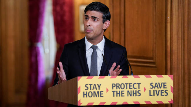 Chancellor Rishi Sunak hosted Tuesday's press conference