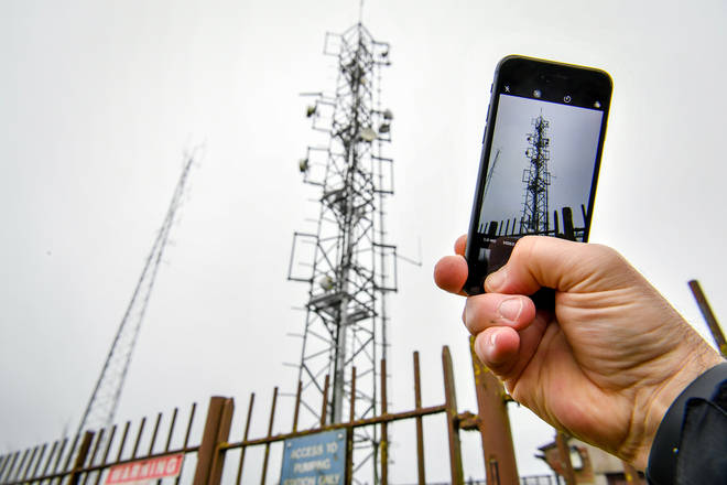 A further 20 mobile phone masts are suspected to have been attacked