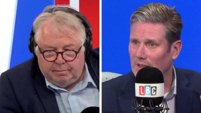Nick Ferrari spoke to new Labour leader Sir Keir Starmer