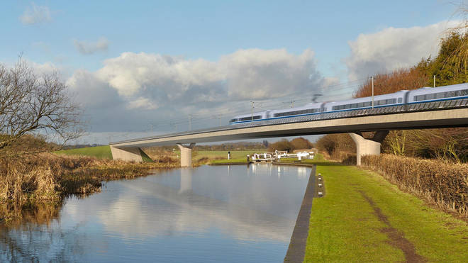The railway is expected to cost in excess of £100 billion