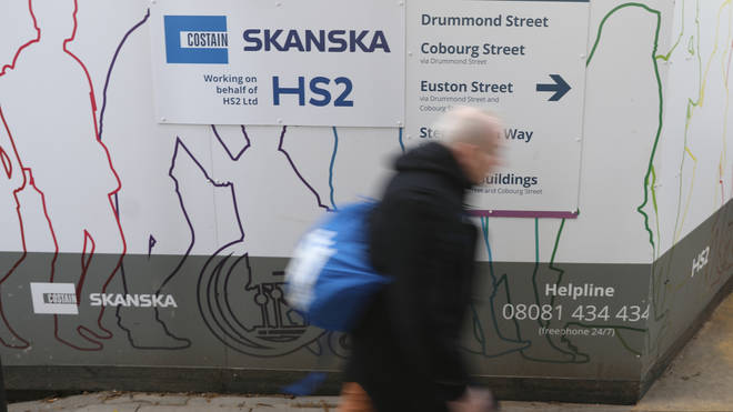 HS2 has repeatedly gone over budget