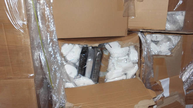 Over £1 million of cocaine was discovered at the Channel Tunnel