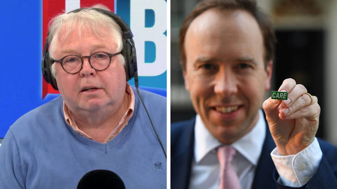 Nick Ferrari didn't think a badge should be a priority for Matt Hancock