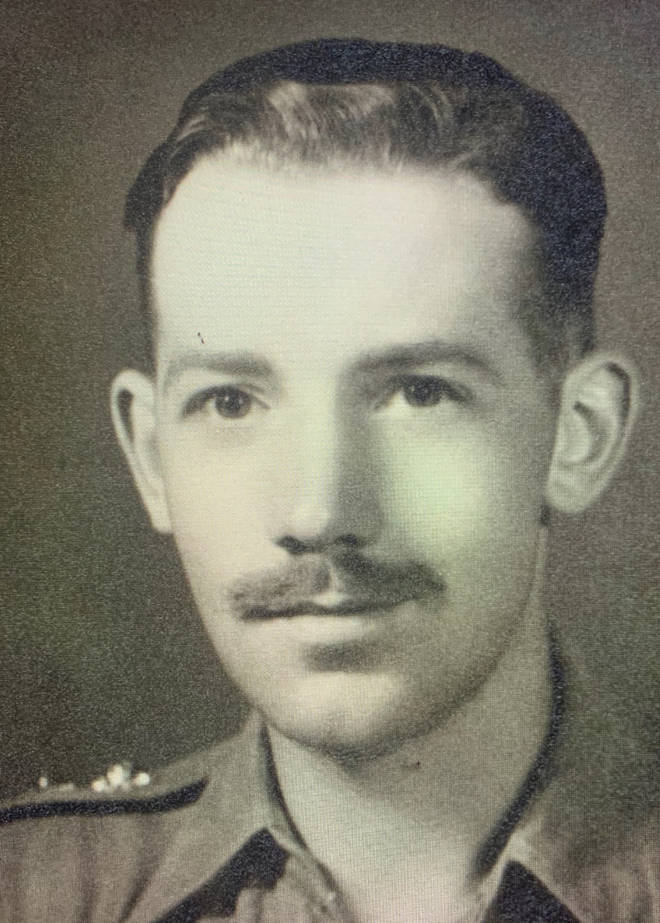 Mr Moore was formally a Captain in the army during WW2