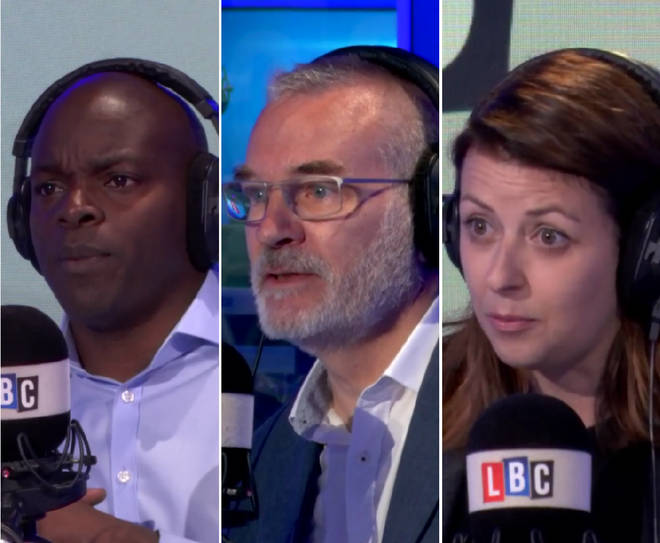Shaun Bailey, Andrew Boff and Joy Morrisey on LBC
