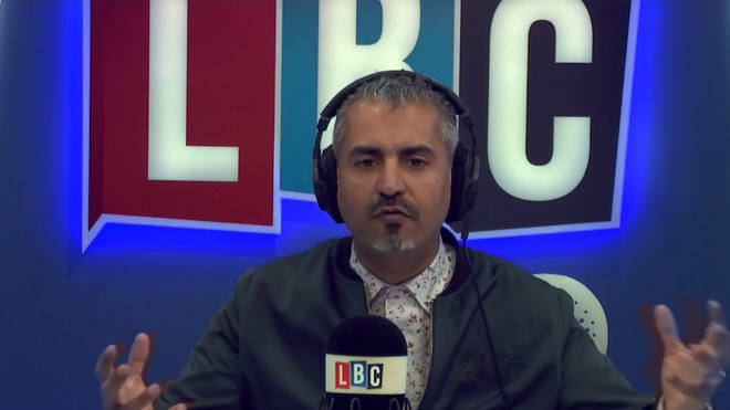 Maajid said Rees-Mogg's investment and profits amounted to rank hypocrisy
